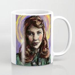 St. Sylvia Plath Coffee Mug