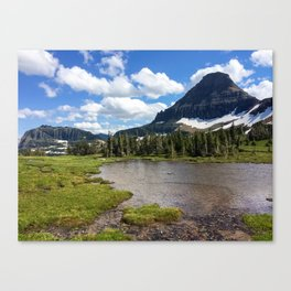 Mountain Bliss in Summer Canvas Print