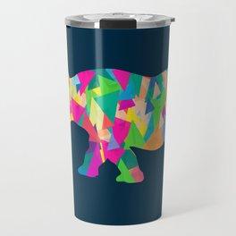 Abstract Rhino Travel Mug