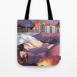 Purple Gaze Tote Bag