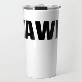 *YAWN* Travel Mug