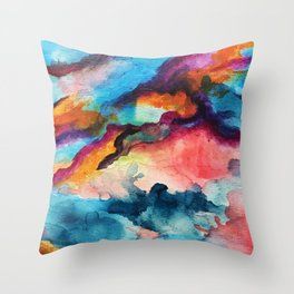 Unexpected Blends Throw Pillow