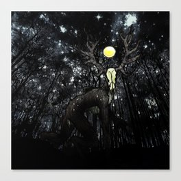 The Beast Canvas Print