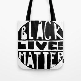 Black Lives Matter Filled Tote Bag