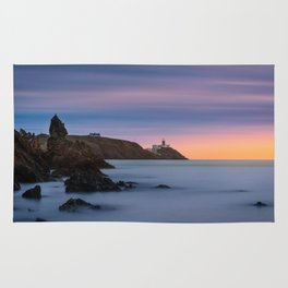 Howth lighthouse - Ireland (RR200) Rug