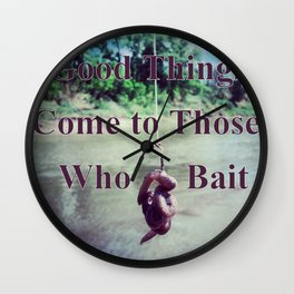 Bait Wall Clock