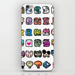 ABC iPhone Skin