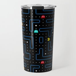 Pac-Man Retro Arcade Gaming Design Travel Mug
