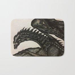 Beastly Dragon Bath Mat