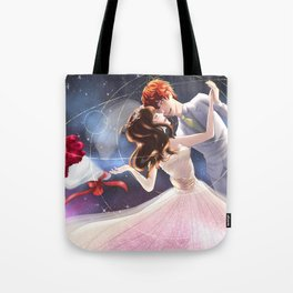 Let's get marry in the space station Tote Bag