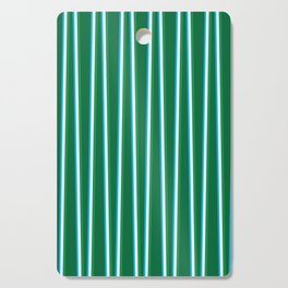 Between the Trees - Forest Green, Green & Blue #811 Cutting Board
