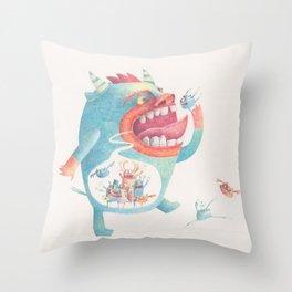 Comer Throw Pillow