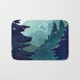 Canadian Mountain Bath Mat
