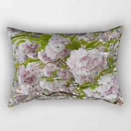 Cherry Blossom Poms Rectangular Pillow
