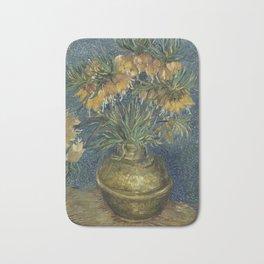 Crown Imperials in a Copper Vase Bath Mat