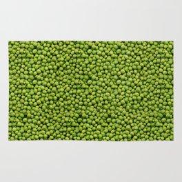 Green Peas Texture No1 Rug