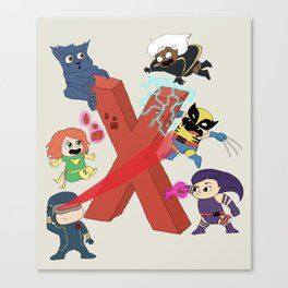 Mutant Mayhem Canvas Print