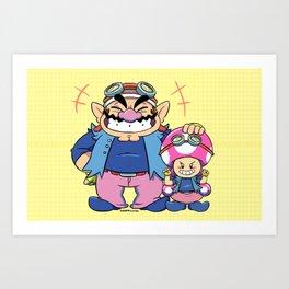 Double Agents Art Print