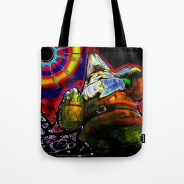 The Gnome Knows Tote Bag