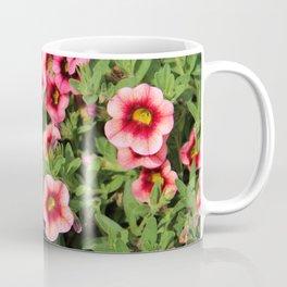 Red Pink Flowers Coffee Mug