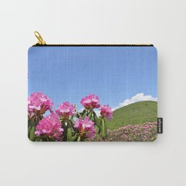 Wild Mountain Rhododendrons Carry-All Pouch