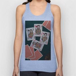 Lily, Rosemary and The Jack of Hearts - Bob Dylan Unisex Tank Top