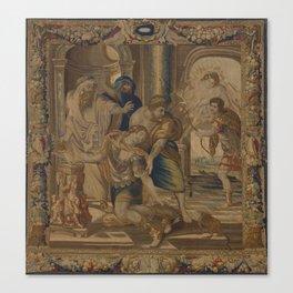 The Death of Achilles Canvas Print