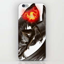 Lumania Bound Conflagration, The Amber Angel iPhone Skin