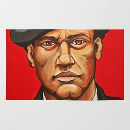 "Huey Newton ""Revolutionary"" Rug"