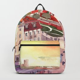 Evening in Warsaw Backpack