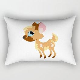 Cute Little Deer Rectangular Pillow