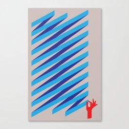 Stick It Canvas Print