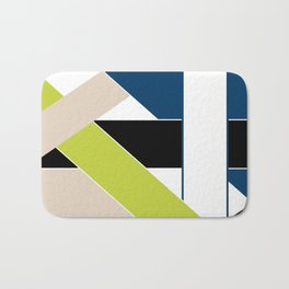 Abstract pattern . Geometric shapes .1 Bath Mat