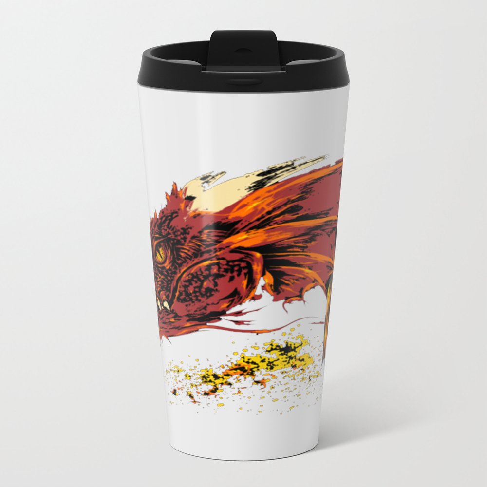 Into The Abode Of The Dragon Metal Travel Mug by Phungvanhao74382 MTM9114611