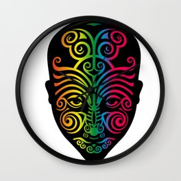 In Two Minds Wall Clock