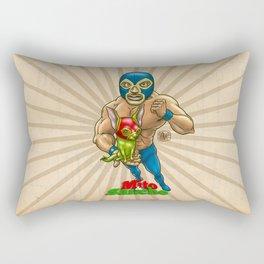 Mito & Sancho, sensacionales de la lucha libre Rectangular Pillow