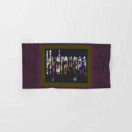 Hydrangea in Purple Hand & Bath Towel