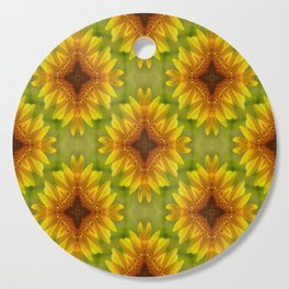 Delighted Sunflowers.... Cutting Board