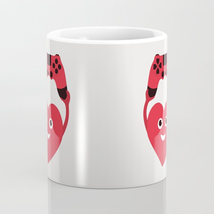 Gaming Heart Coffee Mug
