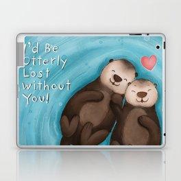 Otterly in Love Laptop & iPad Skin