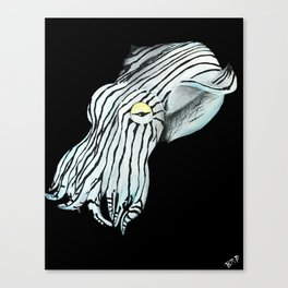 Pajama Squid Canvas Print