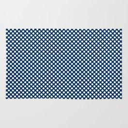 Cool Black and White Polka Dots Rug
