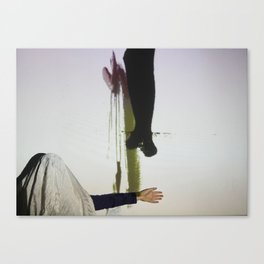 DropArt & Shirly @BYOB TelAviv #04 Canvas Print
