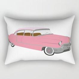 pink cadillac Rectangular Pillow