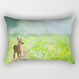 Little Doe (Color) Rectangular Pillow