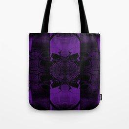 Transmitting Craniums [Purple] Tote Bag