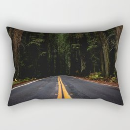 The Road to Wisdom - Nature Photography Rectangular Pillow