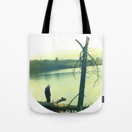 PRIPYAT runs circles Tote Bag