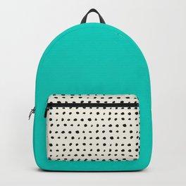 Aqua x Dots Backpack