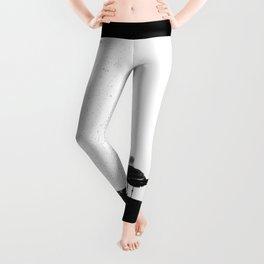 Shit Happens (Black White) Leggings
